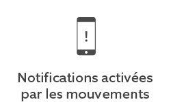 Alertes activées par les mouvements