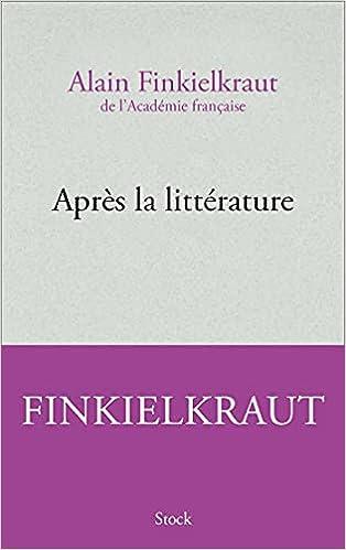 Couverture Après la littérature