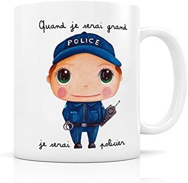 Mug céramique Policier - LabelTour