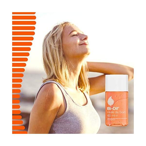 Bi-Oil Huile de Soin pour la Peau – Huile Hydratante, Atténue les Cicatrices et Vergetures – 1 x 60 ml