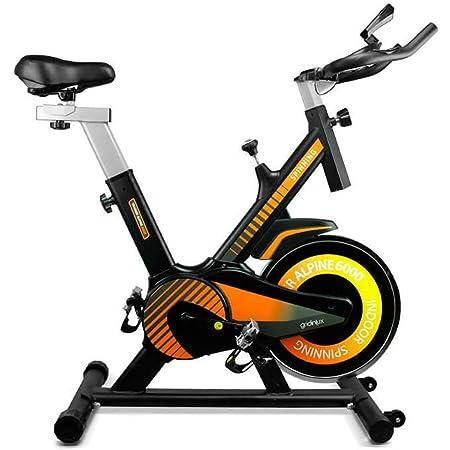 gridinlux Trainer Alpine 6000. Vélo d'appartement indoor cycle PRO. Volant d'inertie 10 kg. Régulation de l'intensité. Écran LCD avec moniteur. Fréquence cardiaque. Fitness
