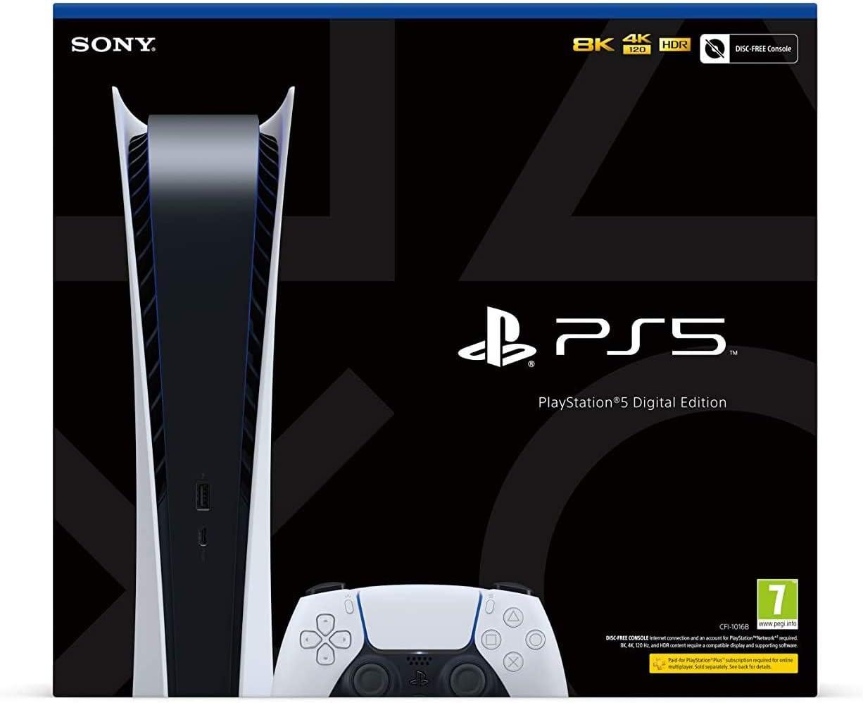 Console PS5 + 2 manettes + Box fibre by SFR