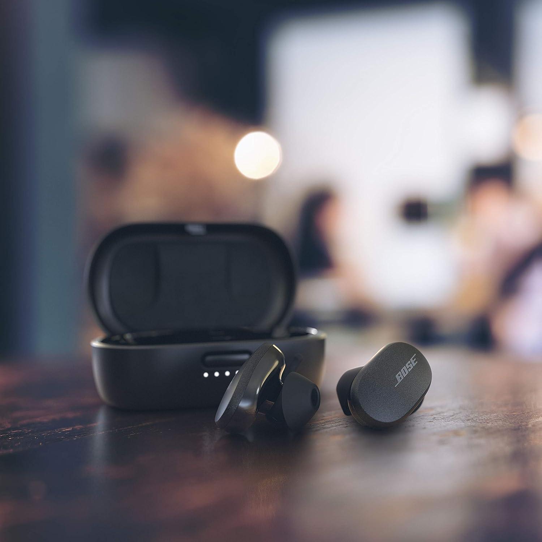 Bose Écouteurs Quietcomfort Noise Cancelling Earbuds – Écouteurs Bluetooth - Test & Avis - Les Meilleures Enceintes Avis.fr