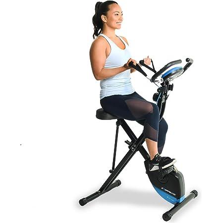 Exerpeutic Vélo d'appartement pliable Smart