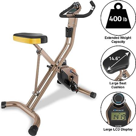 Exerpeutic Gold 500 XLS - Vélo d'appartement pliable