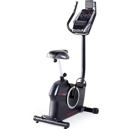 Proform 225 CSX Vélo d'appartement, compact, compatible Bluetooth Appli iFit Cardio, 20 niveaux de résistance motorisée, 20 programmes, Usage Sport, Fitness, Bien-être