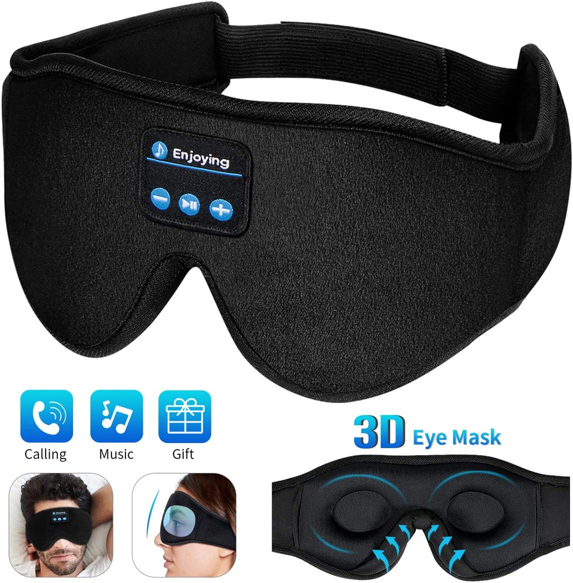 masque de nuit bluetooth