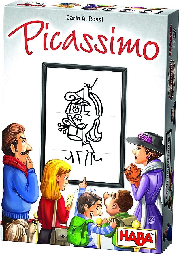 HABA 302400 - Picassimo - Un jeu de dessin de puzzle pour les 8 ans et plus (Fabriqué en Allemagne)