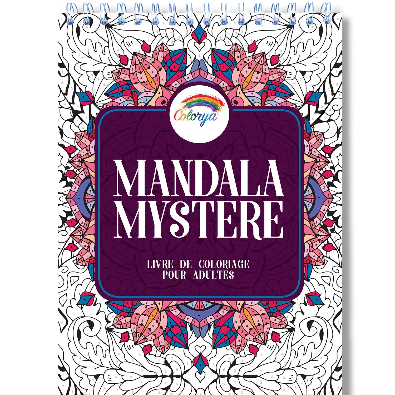 coloriage Mystere Mandala Adulte