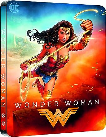 Wonder Woman [4K Ultra HD + Blu-Ray-Édition boîtier SteelBook]