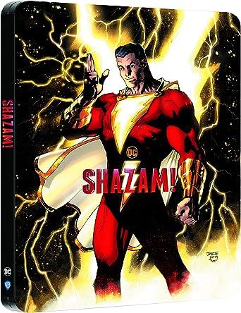 Shazam [4K Ultra HD + Blu-Ray-Édition boîtier SteelBook]