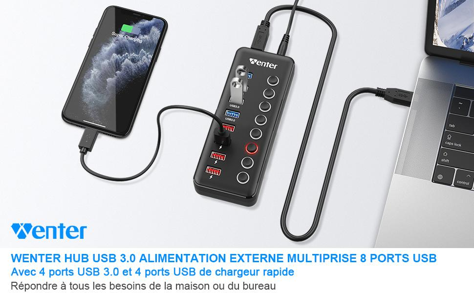 chargeur usb multiple