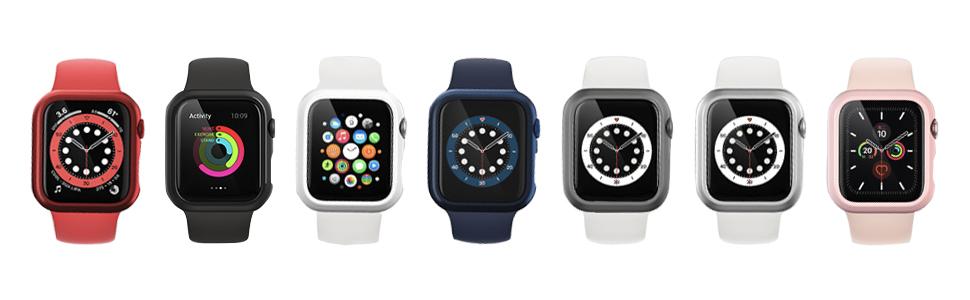 Ce boîtier Apple Watch de 40 mm est conçu avec des découpes précis