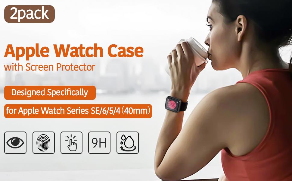 Apple watch case-2pc
