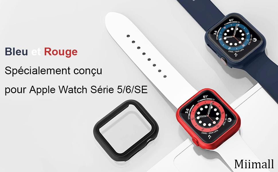 Apple Watch Série 6/Série 5/Série 4/Se PC Coque