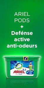 Ariel Pods + Active anti-odor defense